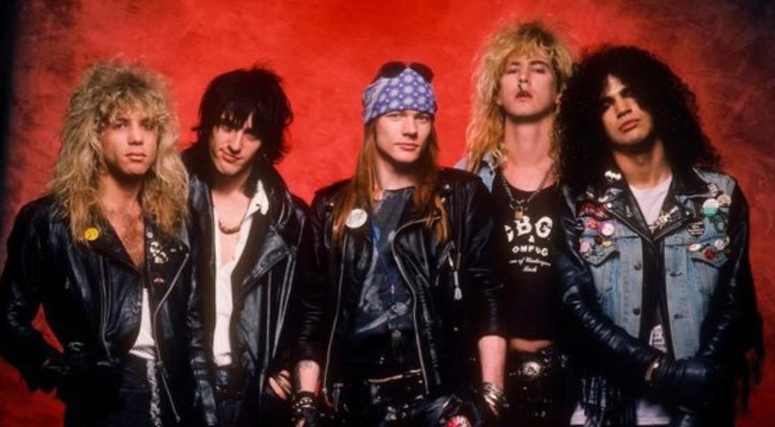 Slash Guns N' Roses