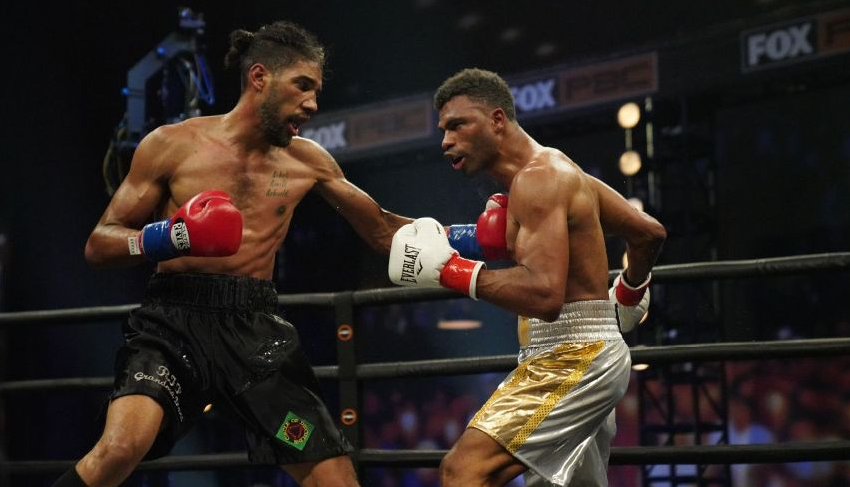 Jamal James win overThomas Dulorme by unanimous decision to win the WBA vacant interim welterweight title.