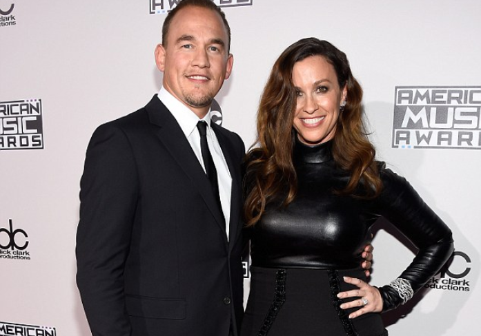 Marino Treadway and wife Alanis Morissette