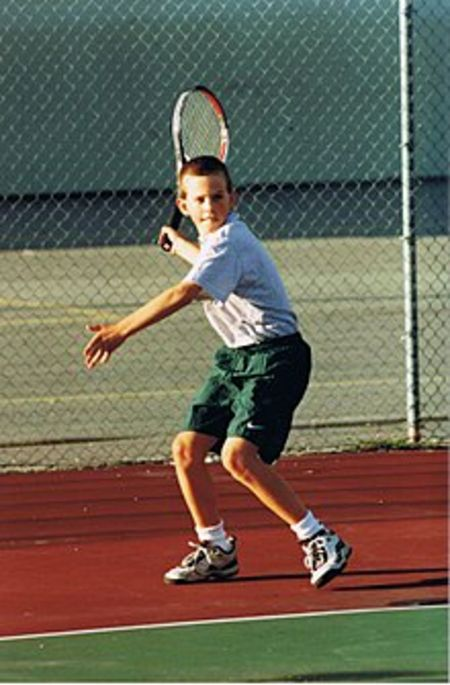 Vasek Pospisil at an Early Age