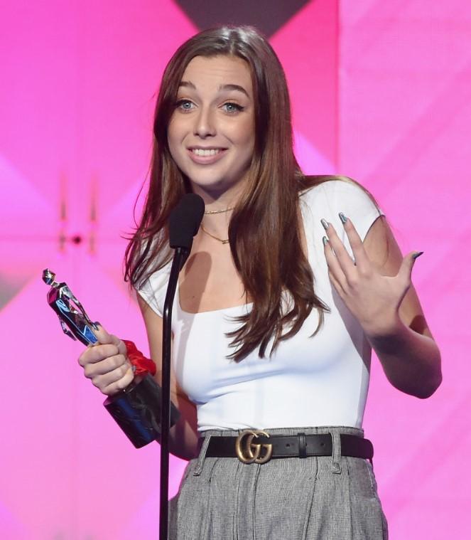 Emma Chamberlain awards