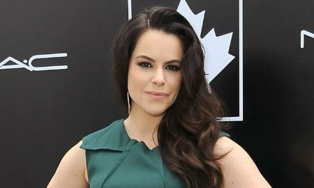 Emily Hampshire is a Canadian actress