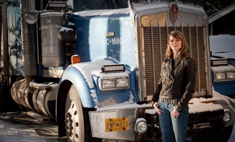 Lisa Kelly Ice Road Truckers