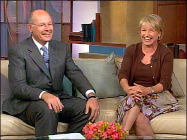 Smith with his wife as a part of the show 'Trading Places'