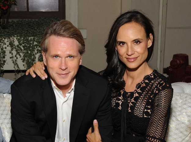 Cary Elwes with his wife, Lisa Marie