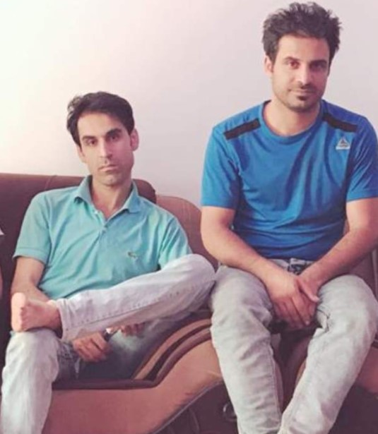 Navid Afkari brothers