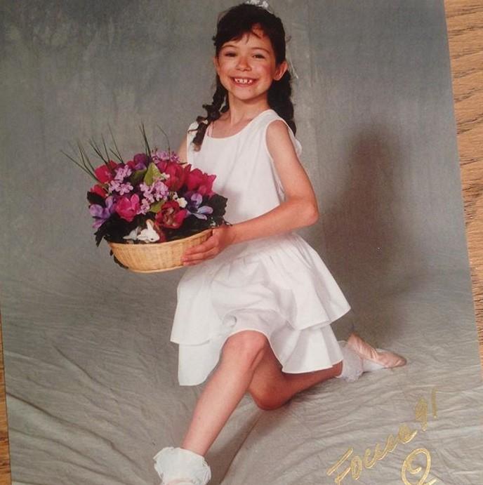 Tatiana Maslany young