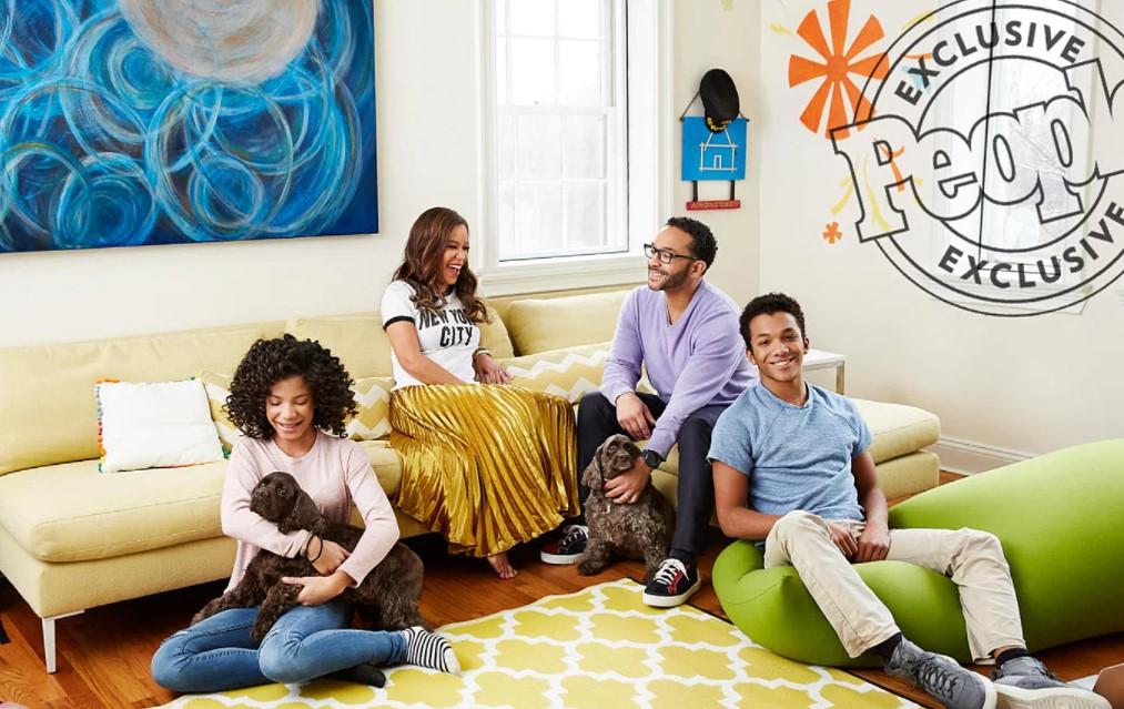 Sunny Hostin family