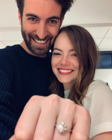 Dave McCary and Emma Stone were engaged on 8th December 2019