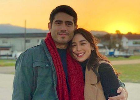 Julia Barretto with her rumored boyfriend Gerald Anderson