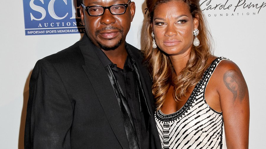 Alicia and Bobby Brown