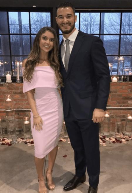 Hillary Gallagher with her boyfriend Mitchell Trubisky