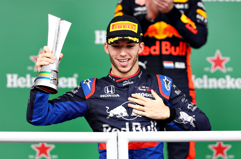 Pierre Gasly claims maiden F1 victory in topsy-turvy Italian Grand Prix