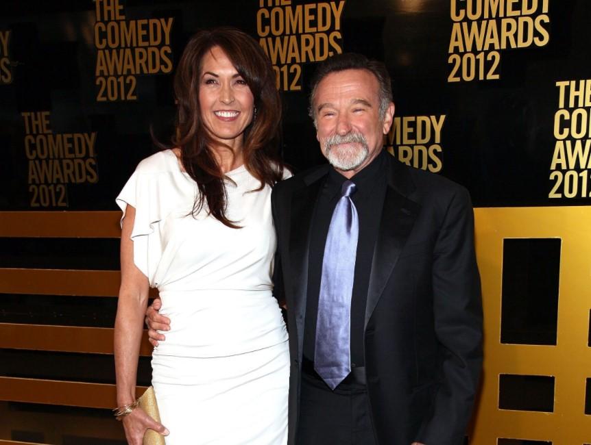 Susan Schneider Robin Williams