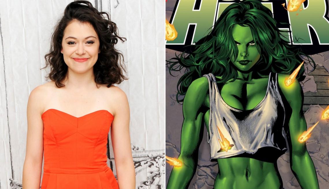 Tatiana Maslany Hulk