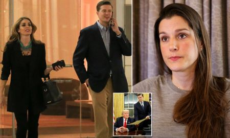 Rob Porter caught on the camera with his ex-wife.
