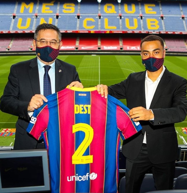 Sergino Dest Barcelona