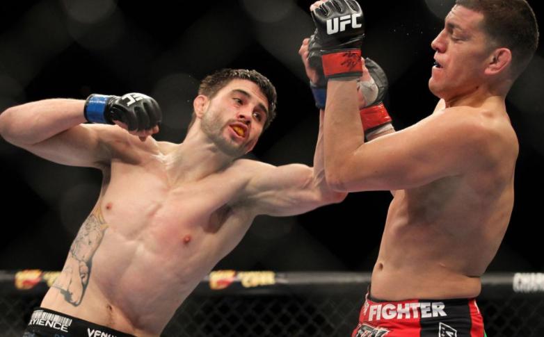 Carlos Condit, a professional MMA fighter