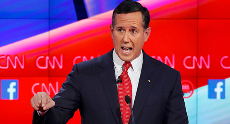 Rick Santorum, a CNN senior political commentator