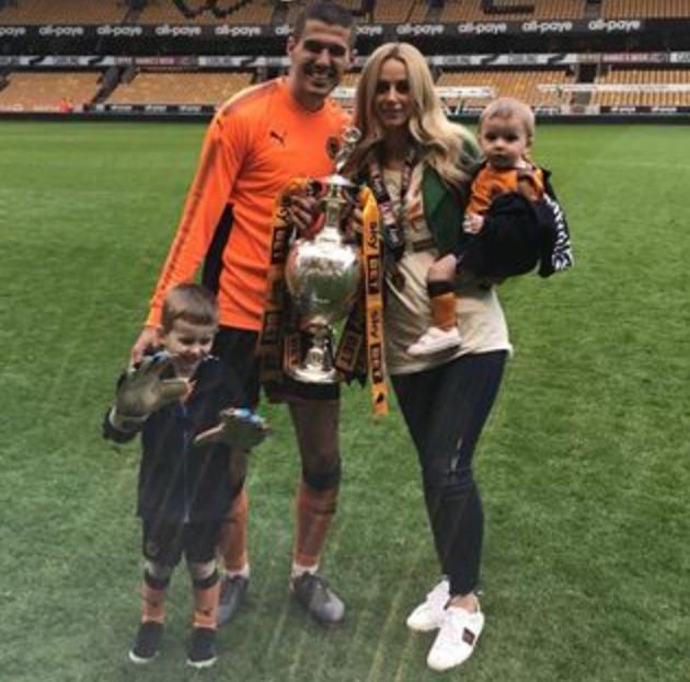Conor Coady family