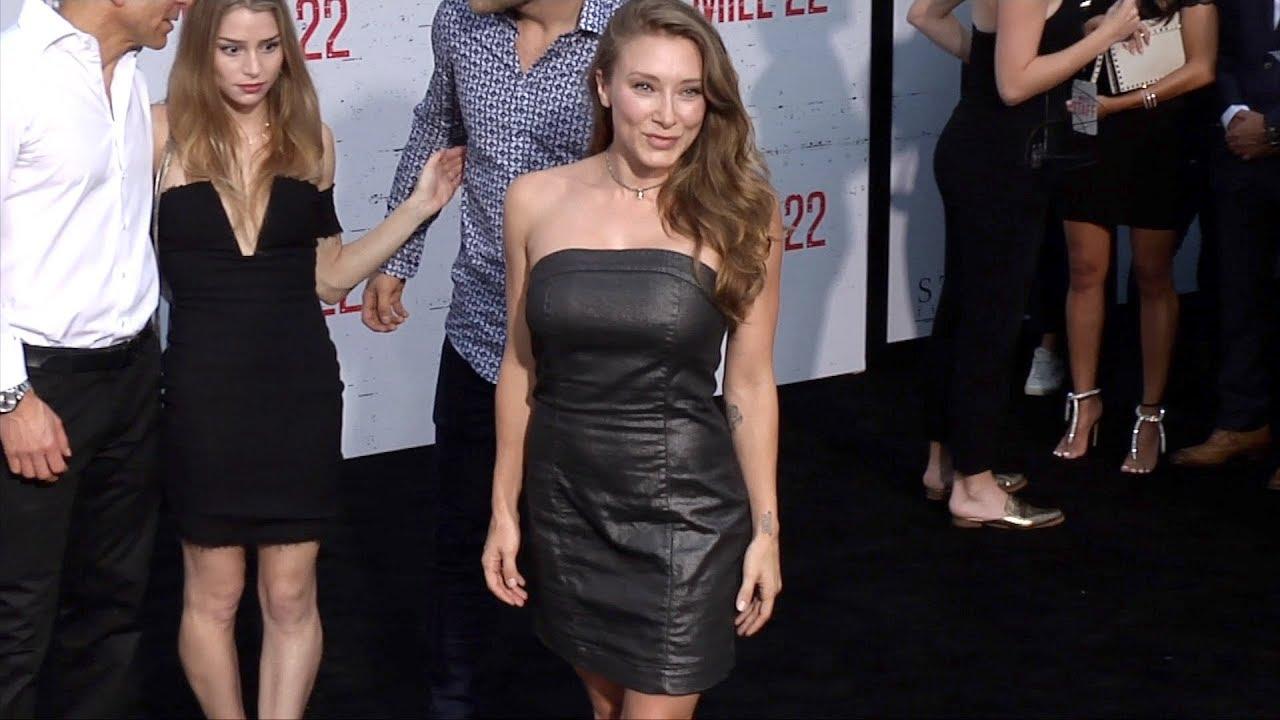 "Alexandra Vino ""Mile 22"" World Premiere Black Carpet"