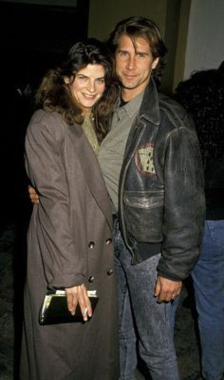 Kirstie Alley with her ex-husband Parker Stevenson