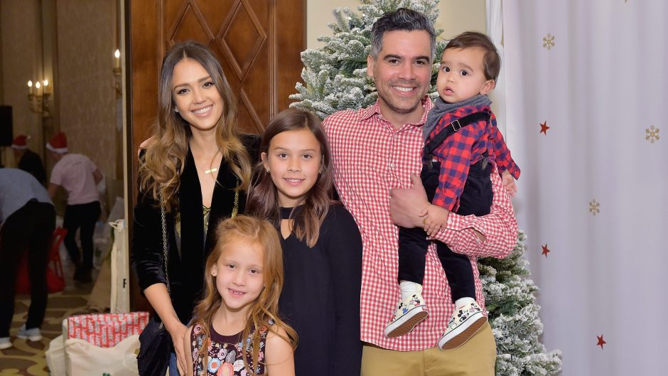 Cash Warren and his family