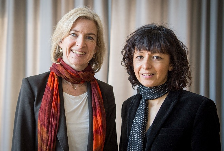 Jennifer Doudna and Emmanuelle Charpentier share the 2020 Nobel chemistry prize