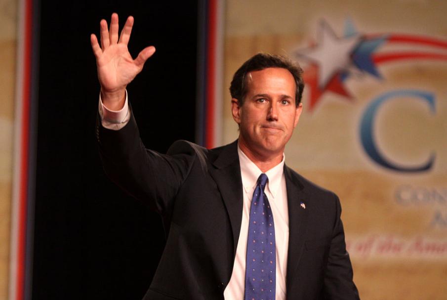 Rick Santorum, a famous politician