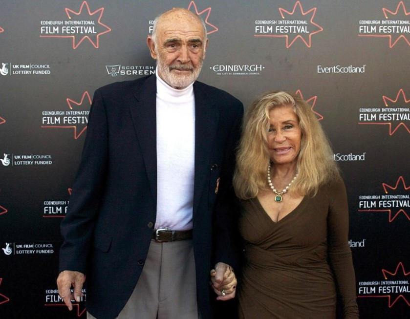 Sean Connery wife