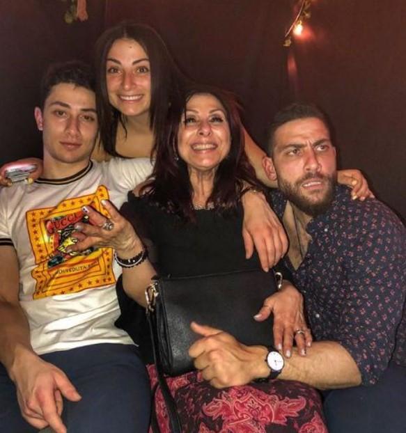 Zeeko Zaki family