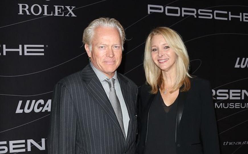 Lisa Kudrow and her husband Michael Stern