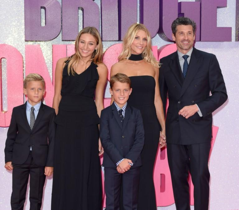 Patrick Dempsey family
