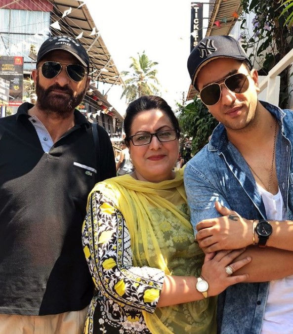 Aly Goni parents