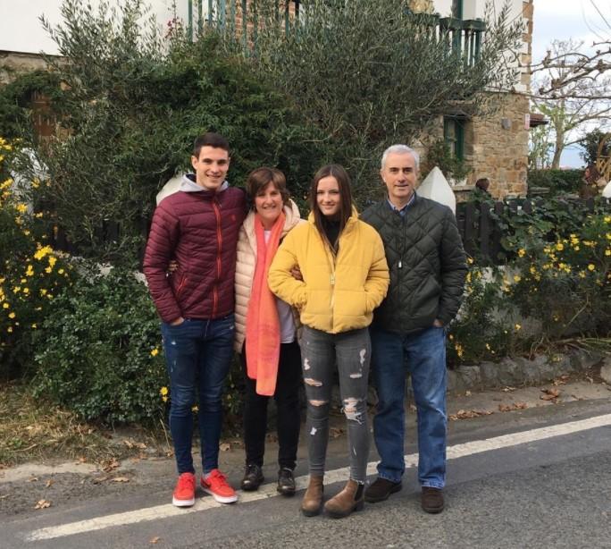 Ander Egiluz Alzola family
