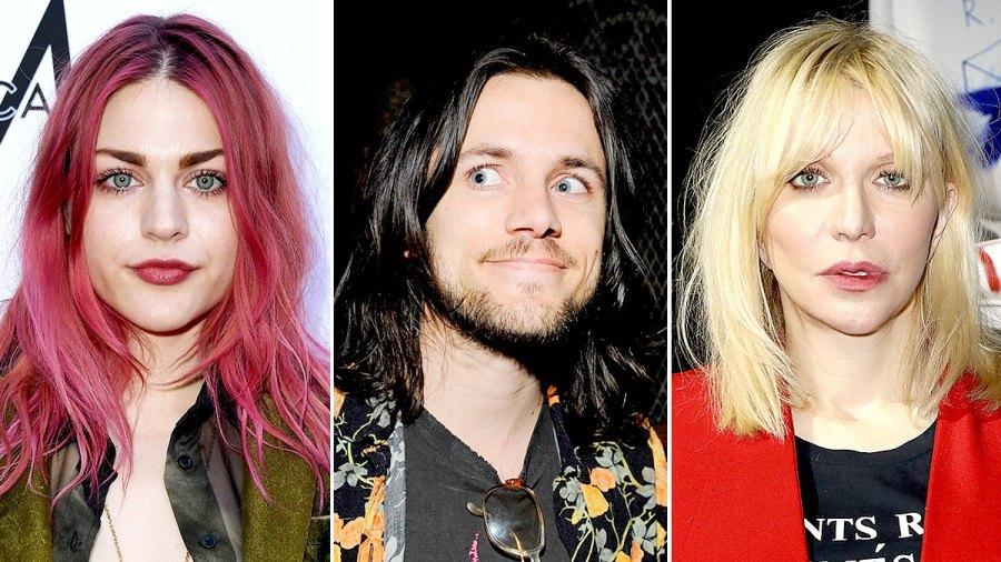Isaiah Silva, Frances Bean Cobain, and Courtney Love
