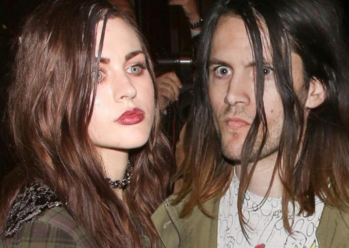 Isaiah Silva and his ex-wife Frances Bean Cobain