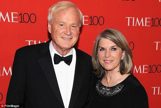 Kathleen Matthews and her husband Chris Matthews
