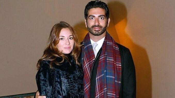 Lara Bashir and Saad Hariri