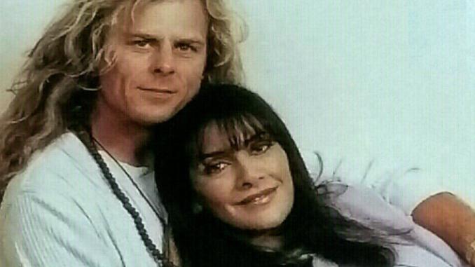Marina Sirtis and husband Michael Lamper
