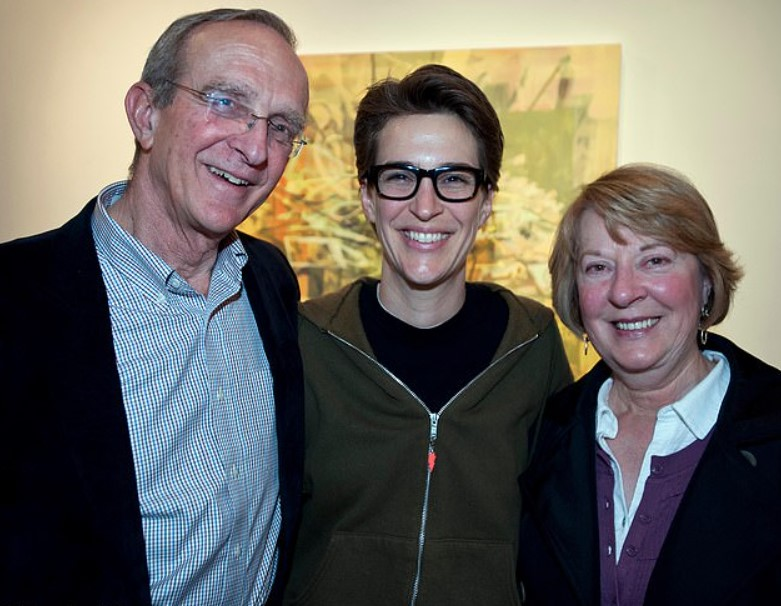 Rachel Maddow parents
