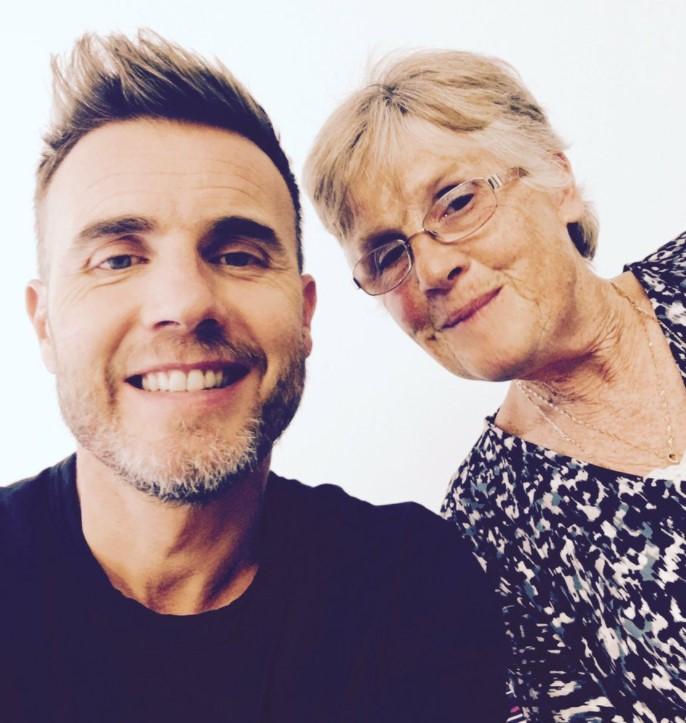 Gary Barlow mother