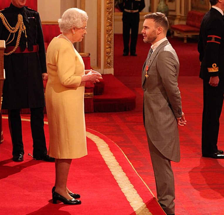 Gary Barlow honors