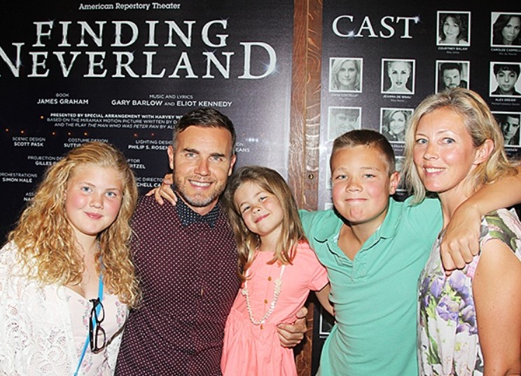 Gary Barlow family