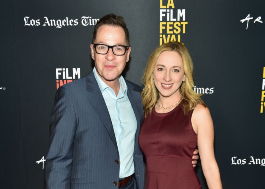 French Stewart and his second wife, Vanessa Claire Stewart