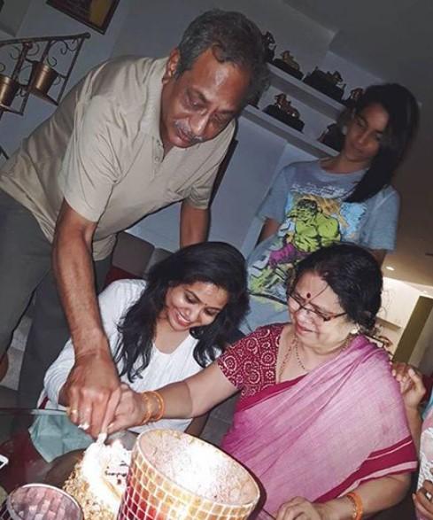 Sunitha parents
