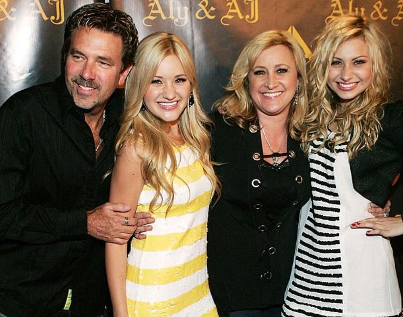 AJ Michalka family