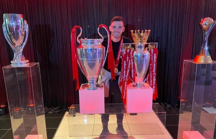 Andrew Robertson @instagram@andyrobertson Liverpool