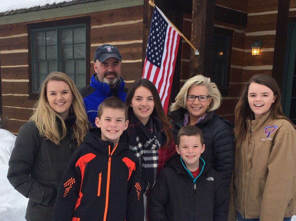 Liz Cheney family