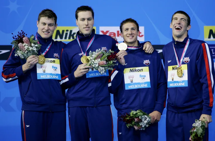 Klete Keller won medals at the 2000, 2004 and 2008 Summer Olympics